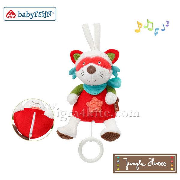 Baby Fehn - Музикална мини играчка Енот 067026