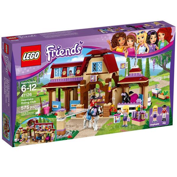 Lego 41126 Friends - Клуб по езда Хартлейк