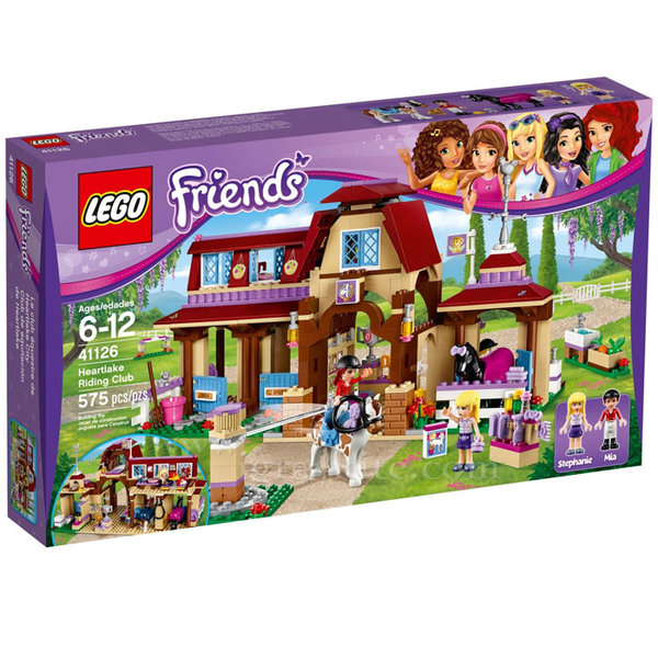 Lego 41126 Friends - Клуб по езда Хартлейк