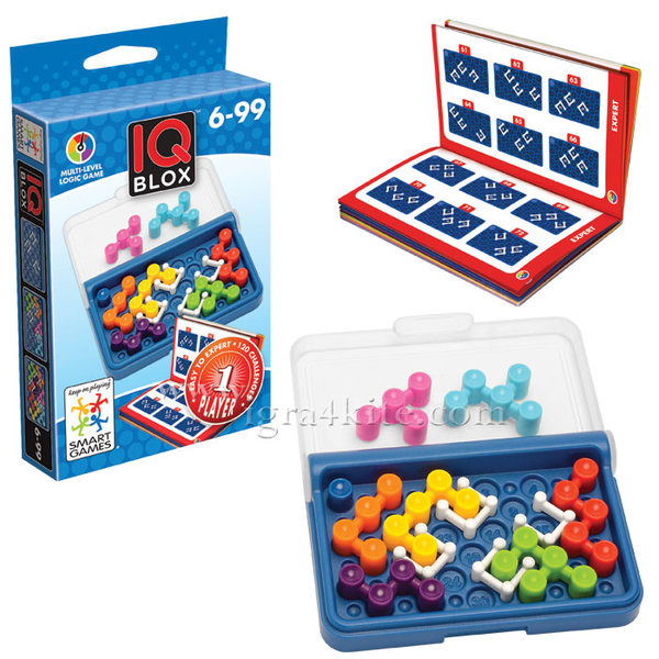 Smart Games - Игра мини IQ Blox 466 6+