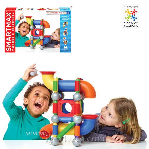 Smart Games - Магнитен конструктор SmartMax Playground 515 3+