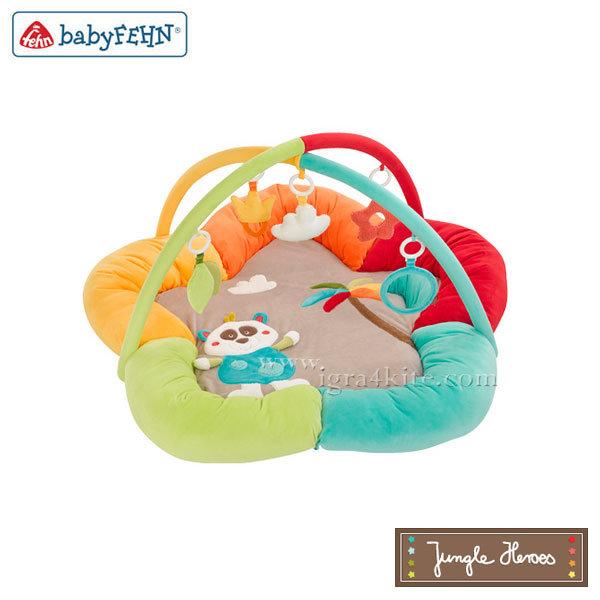 Baby Fehn Jungle Heroes - Бебешка 3D Активна гимнастика гнездо 067323