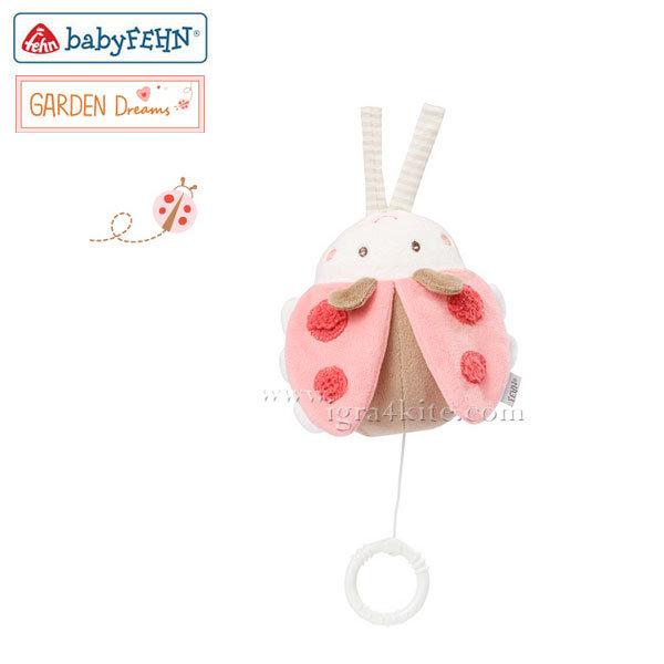 Baby Fehn - Музикална мини играчка Бръмбър 068030