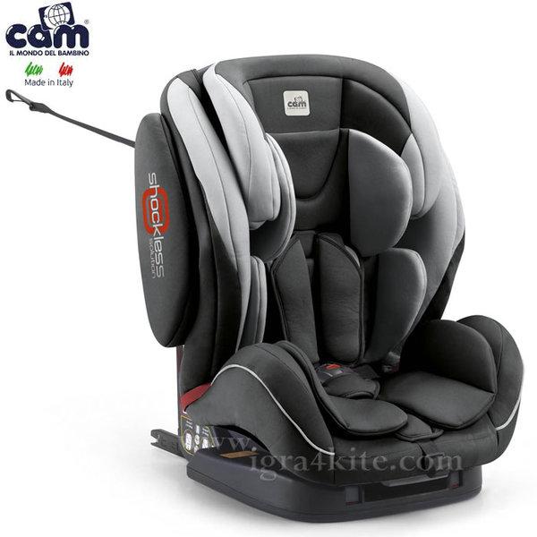 Cam - Столче за кола Regolo Isofix S163/498 (9-36kg)