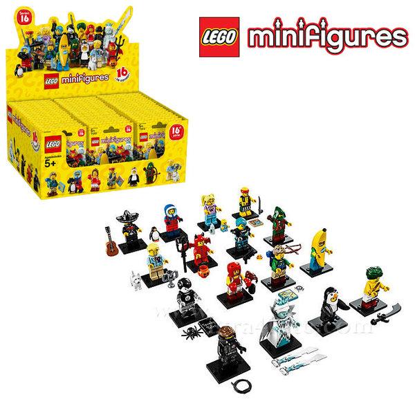 Lego 71013 - Колекционерски мини фигурки серия 16