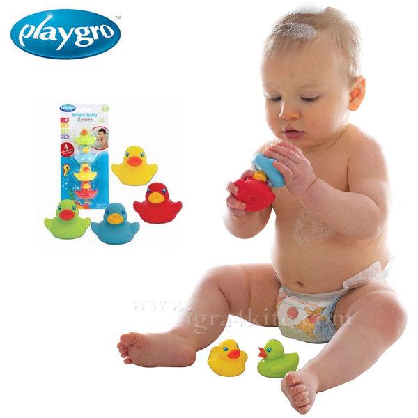 Playgro - Играчка за баня Цветни патета 0524