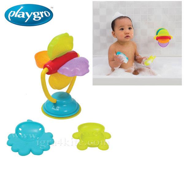 Playgro - Играчка за баня Въртележка Делукс 0523