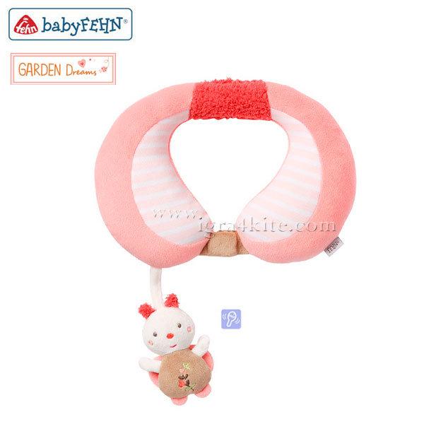 Baby Fehn - Бебешка възглавничка за врaтле пчела 068467