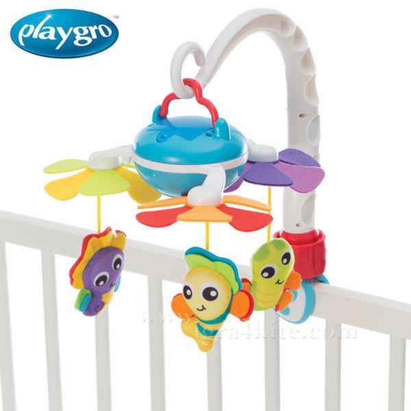 Playgro Музикална въртележка за легло и количка 0208