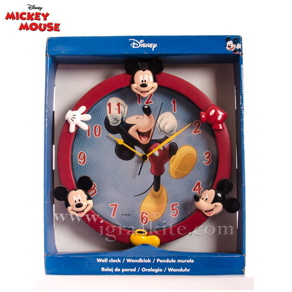 Disney - Mickey Mouse Стенен 3D часовник 521035
