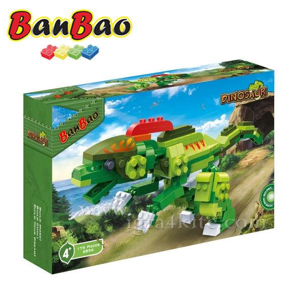 BanBao - Строител 4+ Зеления звяр 6856