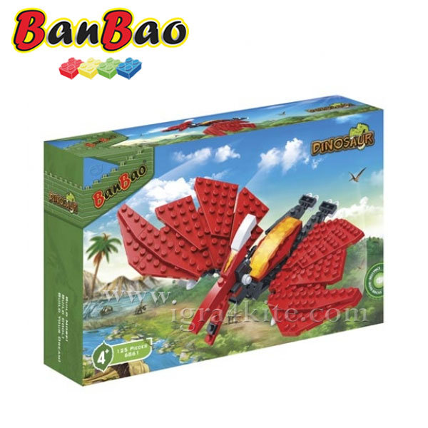 BanBao - Строител 4+ Унищожителят 6861