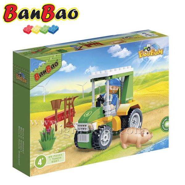BanBao - Строител 4+ Трактор 8587