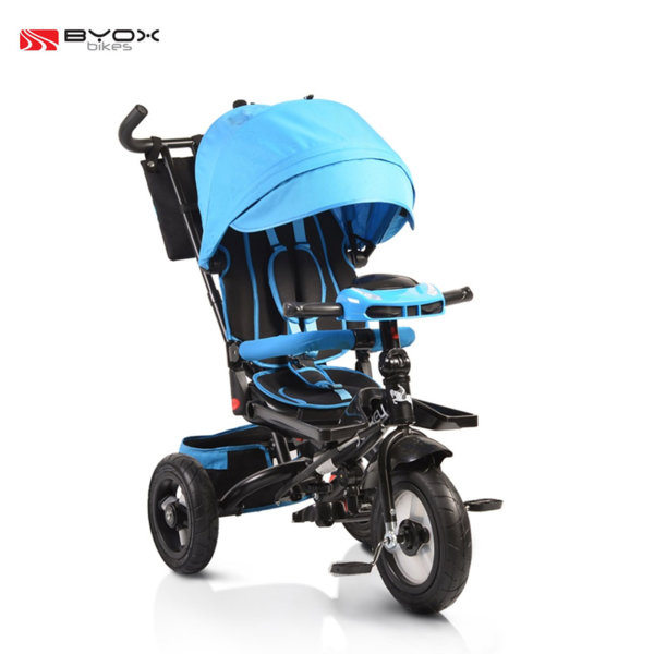 Byox Bikes - Детска триколка Jockey с музикално табло Blue 106035