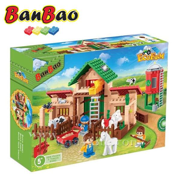 BanBao - Строител 5+ Селскостопански двор 8580
