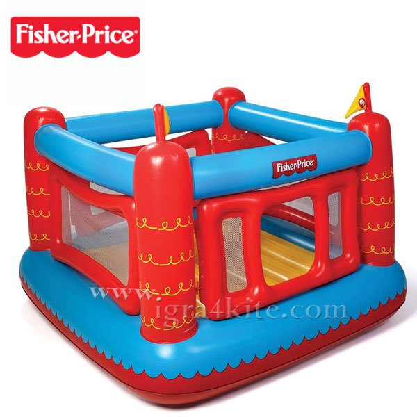 Fisher Price - Надуваем батут 93504