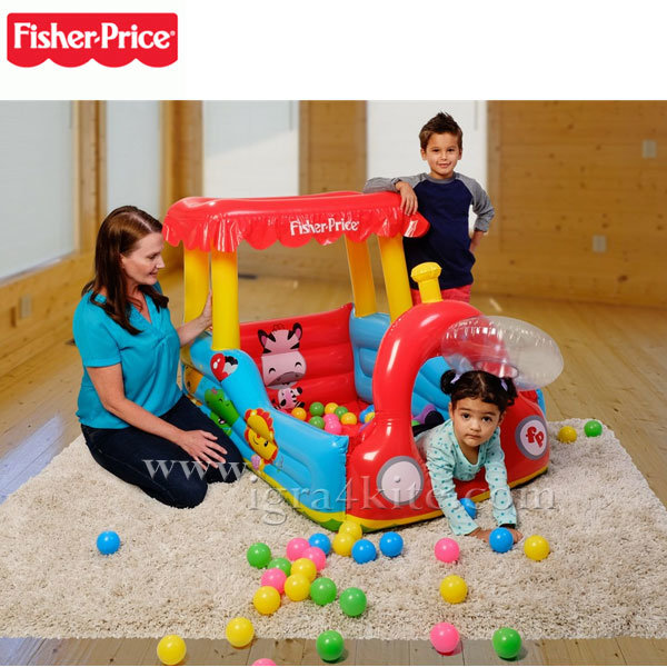 Fisher Price - Надуваем влак с топки 93503