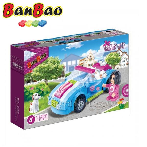 BanBao - Строител 4+ Мини автомобил 6119