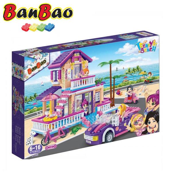 BanBao - Строител 6+ Къща на плажа 6122