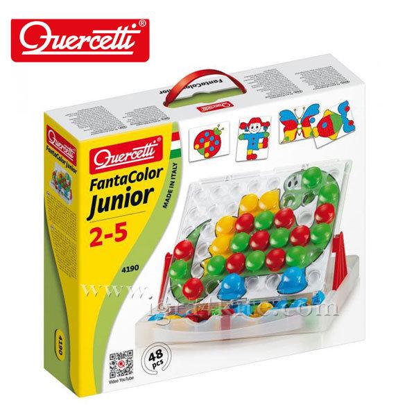 Quercetti - Мозайка Fanta Color Junior 48 части 4190