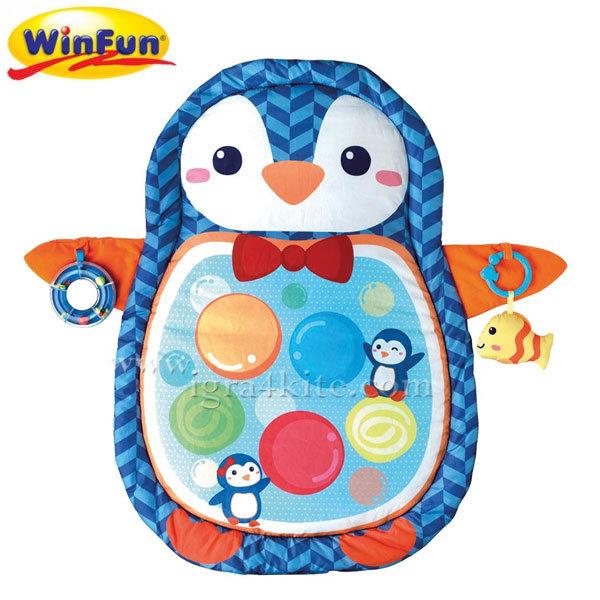 WinFun - Забавен килим за игра Пингвин 0842