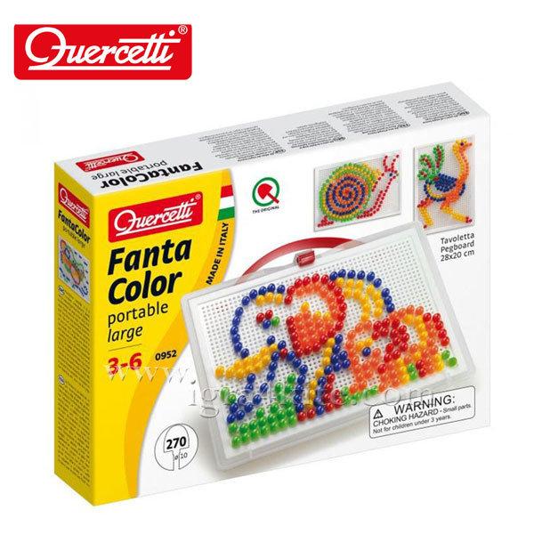 Quercetti - Мозайка Fanta Color 270 части 952