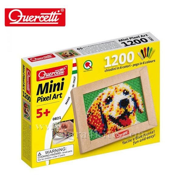 Quercetti - Мозайка 1200ч Куче Mini Pixel Art 821