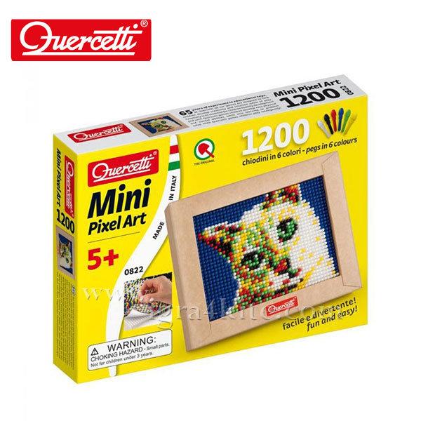 Quercetti - Мозайка 1200ч Коте Mini Pixel Art 822