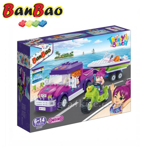 BanBao - Строител 6+ Плажно пътешествие 6127