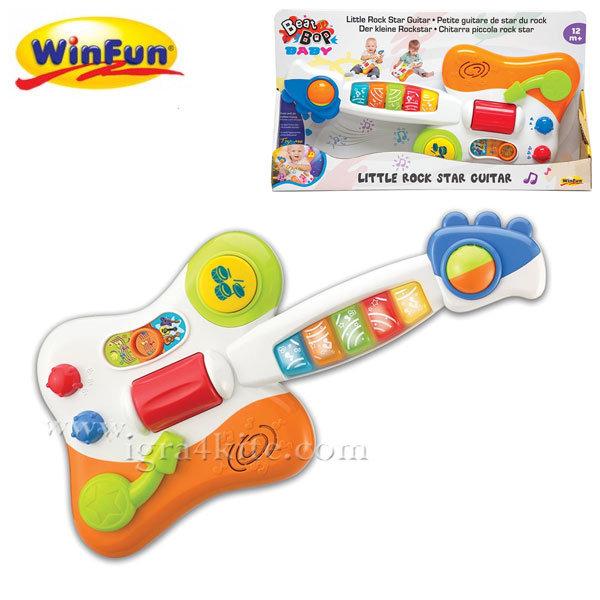 WinFun - Детска мини китара Little Rock Star 2000