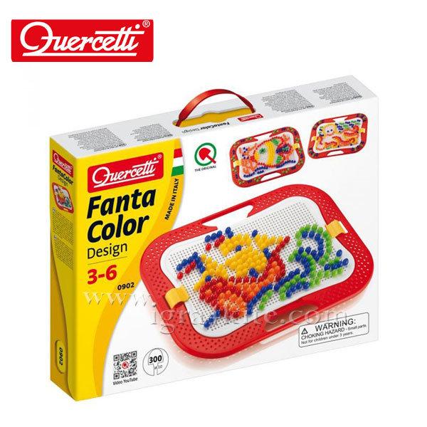 Quercetti - Мозайка Fanta Color 300 части 902