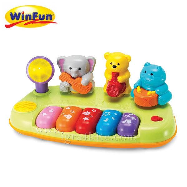 WinFun - Бебешко пиано с животни Jungle Band 2012