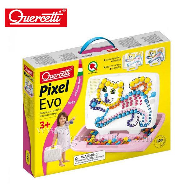 Quercetti - Мозайка 300ч Коте Pixel EVO 917