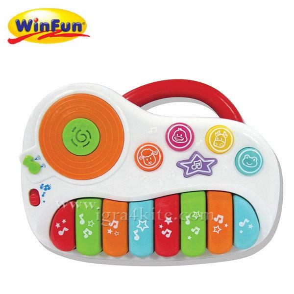 WinFun - Бебебшко мини пиано Little Tunes 2001