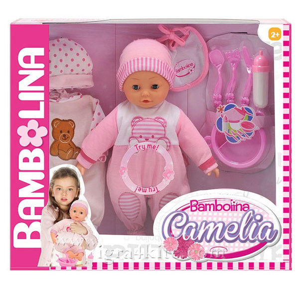 Bambolina - Интерактивна говореща кукла Camelia
