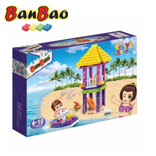 BanBao - Строител 4+ Спасителна кула 6130