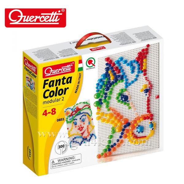 Quercetti - Мозайка Fanta Color 300 части 851