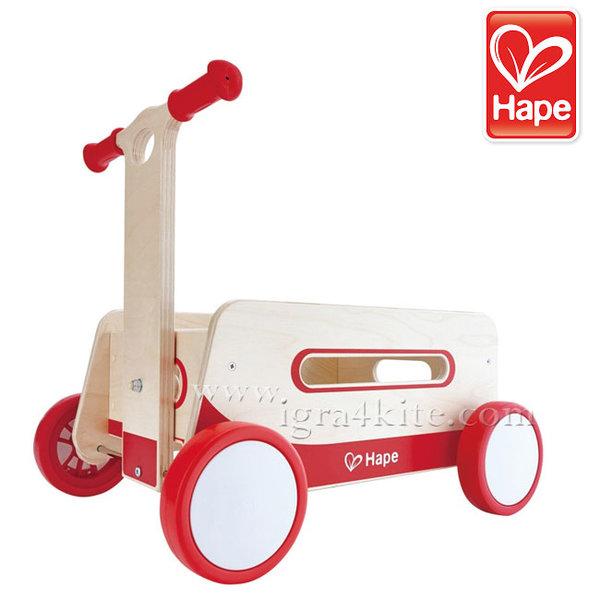 Hape - Детска дървена количка за игра H0375