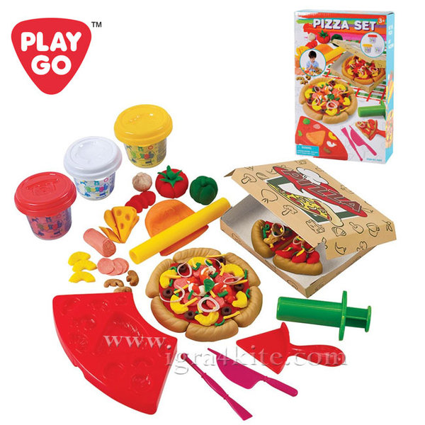 1PlayGo - Dough Пластелин Направи си пица 8582