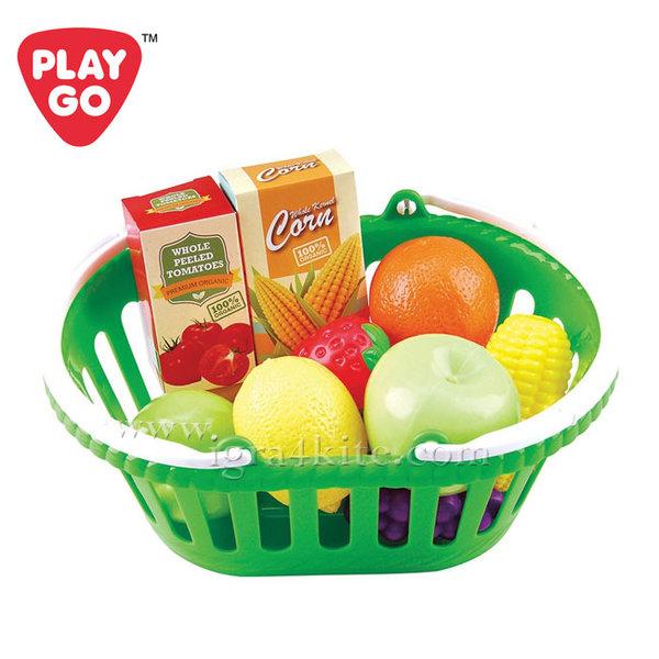 1PlayGo - Кошница със зеленчуци 3754