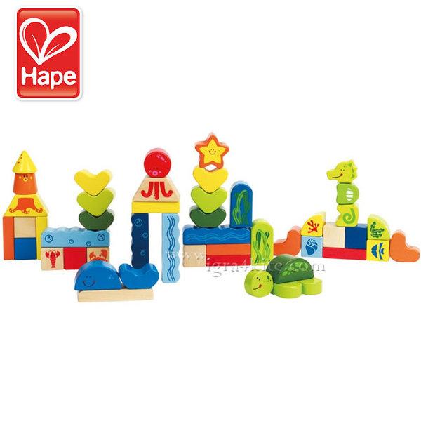 Hape - Детски дървен строител Морско дъно H0432