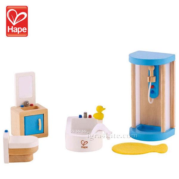 Hape - Кукленско обзавеждане Баня H3451