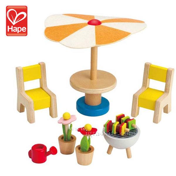 Hape - Кукленско обзавеждане Градина H3460