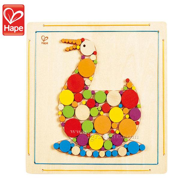 Hape - Дървена мозайка Пате H5130