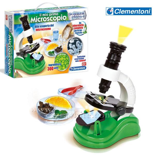 Clementoni Science & Play - Моят първи микроскоп 61211