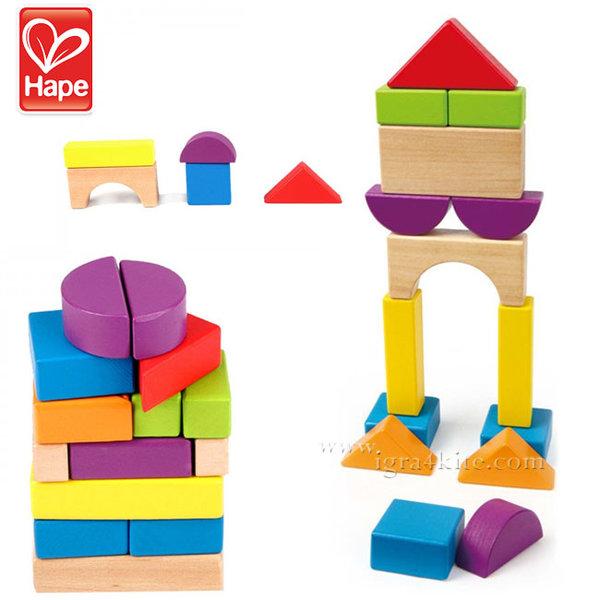 Hape - Строител дървени кубчета H0904