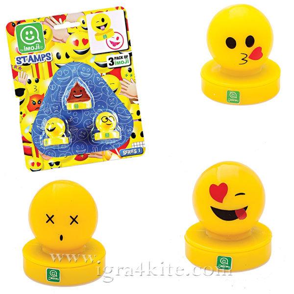Imoji - Комплект печати 3 броя Емотикони 5020