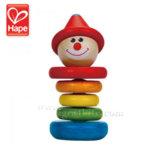 Hape - Дървена играчка Клоун H0010A