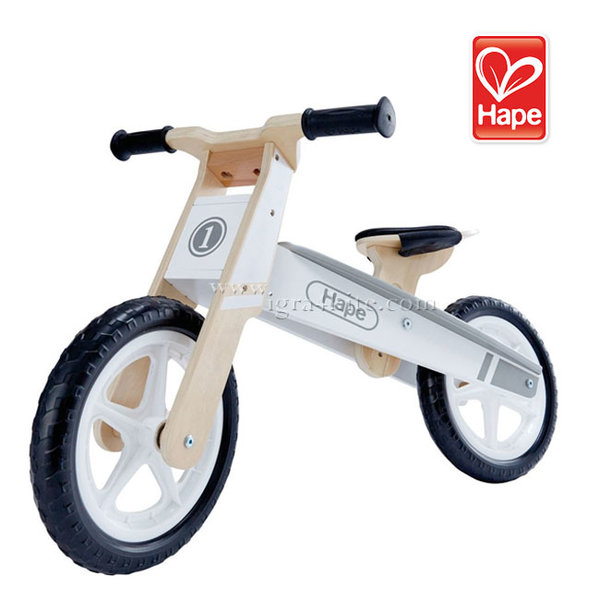 Hape - Детско дървено балансиращо колело H1050