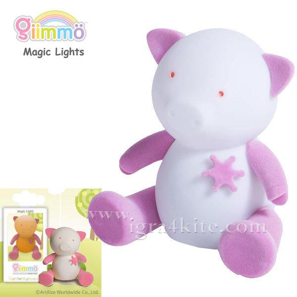 Giimmo - Магическа LED лампа играчка Прасенцето Tango